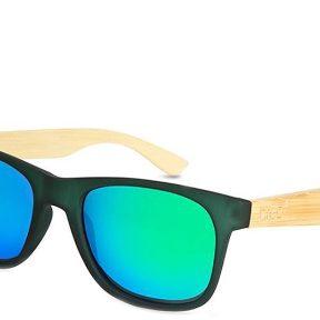 Γυαλιά Ηλίου Breo Pelham Mirror Dark Green Natural Wood B-AP-PELM5-Dark-Green-Natural-Wood